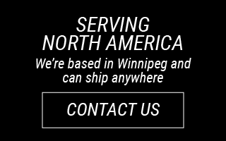 Serving North America: We're based in Winnipeg and can ship anywhere: Contact Us